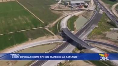 Droni impiegati come spie del traffico sul Passante
