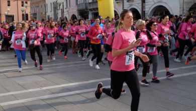 Successo per la 3° Corsa Rosa contro la violenza sulle donne