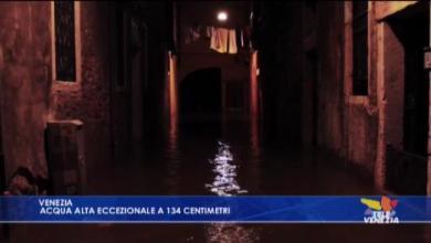 Photo of Acqua alta eccezionale a 134 centimetri