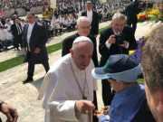 Città della Speranza incontra Papa Francesco a conclusione della staffetta