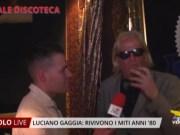 Luciano Gaggia: le serate dedicate alle musiche anni '80