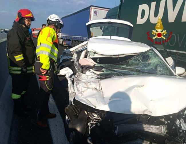 Noventa di Piave, incidente in A4