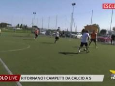 Ritornano i campetti da calcio a 5 a Ca' Fornera