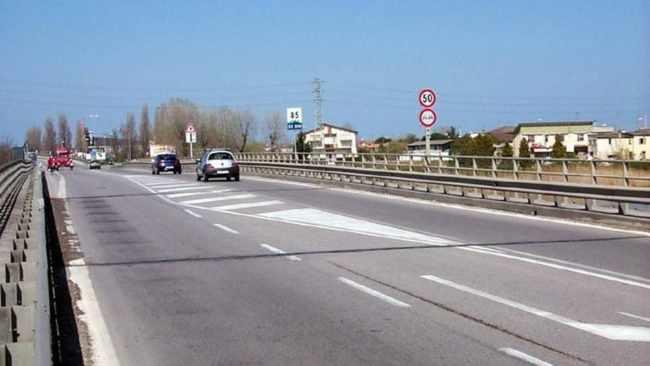 Romea: manutenzione del ponte sul Brenta