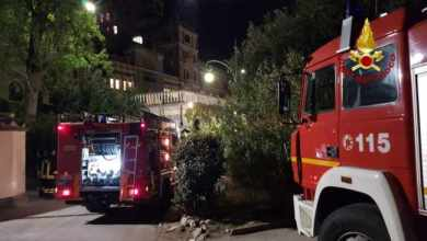 Photo of Incendio all'Hotel Excelsior: a fuoco il frigo gelati