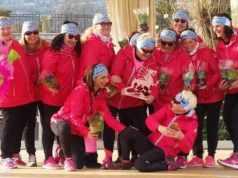 Trifoglio Rosa Mestre sensibilizzare contro il cancro al seno