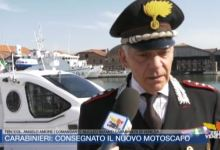 carabinieri nuoto motoscafo