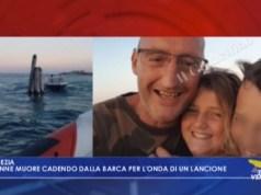 12enne muore cadendo dalla barca per l'onda di un lancione