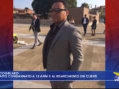 Gaiatto condannato a 15 anni e al risarcimento dei clienti