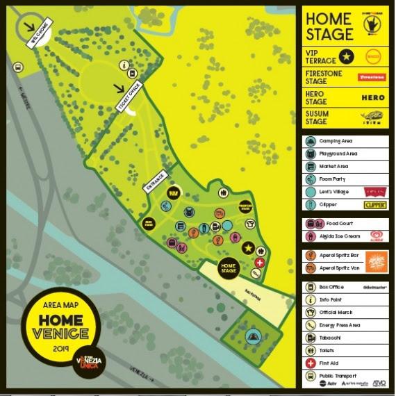 Home Venice Festival: l'area è pronta