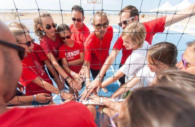 Bibione: camp 'on the beach' all'insegna dello sport