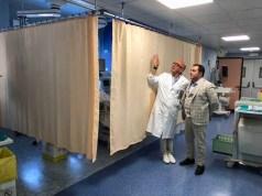Terapia intensiva di San Donà: migliorata la privacy dei pazienti