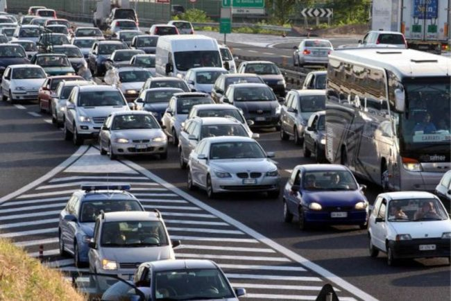 Esodo estivo: traffico intenso su A4 e Tangenziale di Mestre