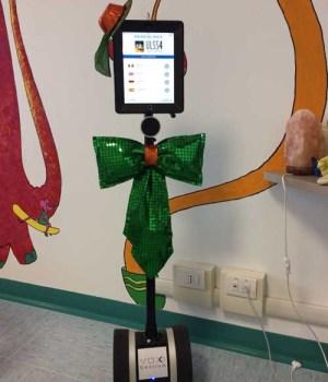 Eddy, il robottino interprete nelle pediatrie di Portogruaro e San Donà