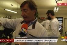 Corrado Marian, il parrucchiere dei Sandonatesi