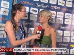 Festival Show: le interviste ad Elodie e Al Bano