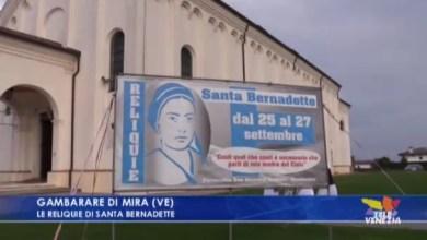 VIDEO: Le reliquie di Santa Bernadette nella chiesa di Gambarare - Televenezia
