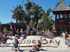 Miss italia e il divertimento a Caribe Bay