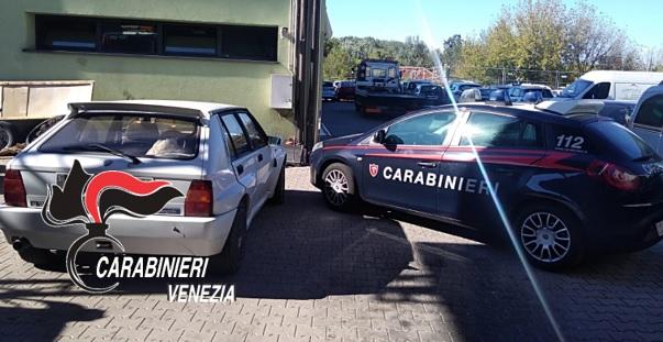 auto rubata jesolo