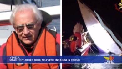 Strage offshore: dubbi sull'urto. Indagini in corso