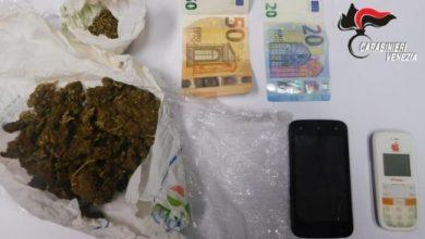 Pusher trovato con 70 grammi di marijuana: arrestato