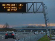 Passante di Mestre chiuso in direzione Milano