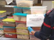 Ristorante chiuso dai Carabinieri: 350 kg di alimentari scaduti sequestrati