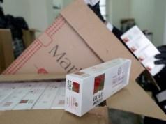 Sequestrate 530 stecche di sigarette di contrabando