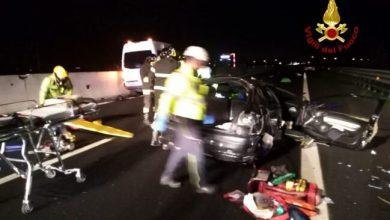 Incidente in autostrada A4: un morto e due feriti