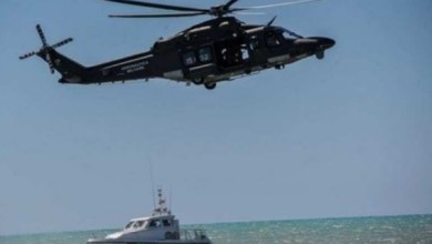 Pescatori di Chioggia salvati dall'Aeronautica Militare