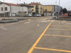Rotatoria Esso a Musile riaperti i parcheggi in Via Rossini