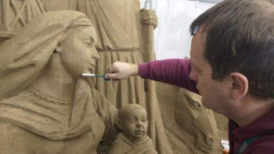 jesolo sand nativity matera