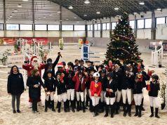 Salto ostacoli: atlete del CEV brillano al Christmas Show