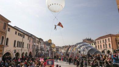 Volo dell'Asino 2020 al Carnevale di Mestre