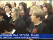 """VIDEO: Corale Adriese in concerto a Rovigo: """"Per non dimenticare"""" - Televenezia"""