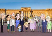 La famiglia reale britannica diventa una serie animata