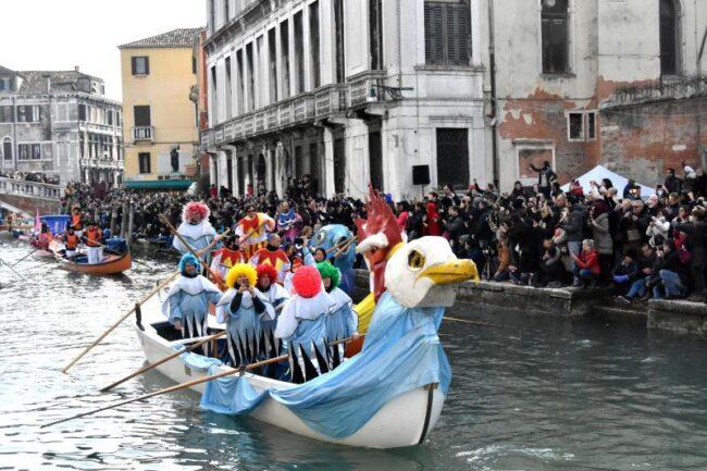 Carnevale di Venezia 2020: modifiche alla viabilità acquea