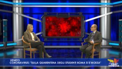 """VIDEO: Coronavirus, Lanzarin: """"quarantena degli studenti è polemica futile"""" - Televenezia"""