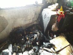 Musile di Piave: fiamme nel seminterrato, asciugatrice a fuoco
