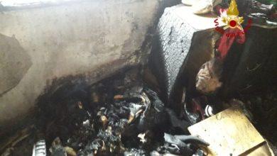 Photo of Musile di Piave: fiamme nel seminterrato, asciugatrice a fuoco