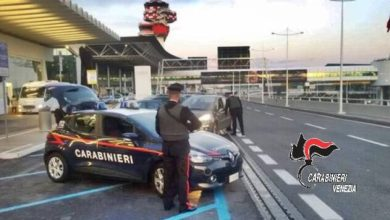 Photo of Topo d'auto pizzicato e denunciato all'Aeroporto Marco Polo