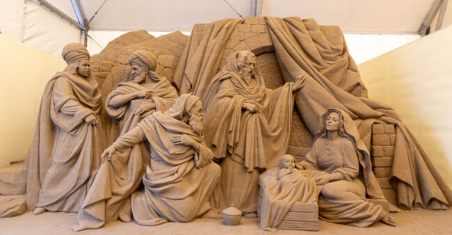 Jesolo Sand Nativity