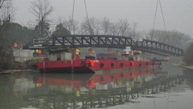 Forte Marghera: varato il nuovo ponte sul Canal Salso