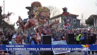 Carnevale di Campalto 2020: 23 febbraio con i carri allegorici
