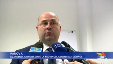 Coronavirus: la Provincia di Padova coordina i sindaci