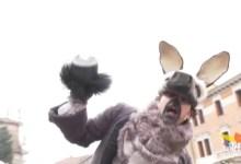 Volo dell'asino: gran finale al Mestre Carnival Street Show
