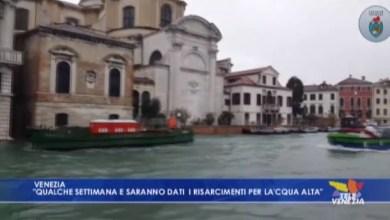 Buone notizie per Venezia: arrivati 84 milioni di euro
