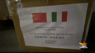 Coronavirus: Cina dona 20mila mascherine al Comune di Venezia