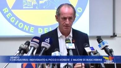 Coronavirus, Zaia: verranno date delle mascherine gratuite