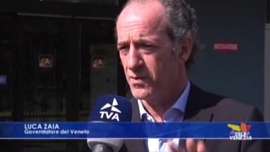 """VIDEO: Coronavirus, 29 nuovi contagi. Zaia: """"medici negativi al test al lavoro"""" - Televenezia"""